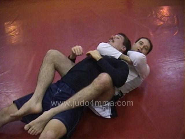 Click for a video showing a traditional Judo technique called Hadaka Jime - Rear Naked Choke